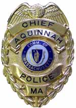 Aquinnah Police Badge